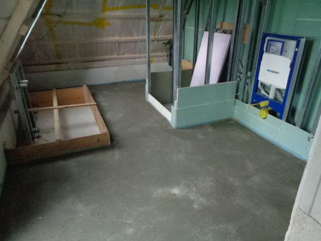 Dämmung Fußboden Estrich ~ Guter baufortschritt beim neubau in rösrath dämmung und estrich