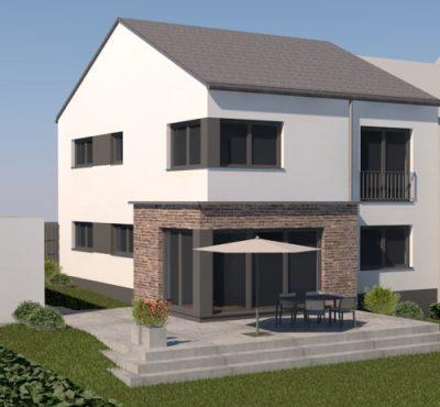 Massivhaus in 7 Monaten Bauzeit