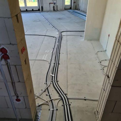 Massivhaus in Bensberg: Guter Baufortschritt