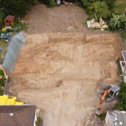Neubauprojekt in Bonn: Kranaufstellung