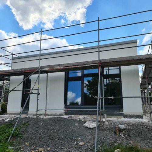 Neubau in Bergisch Gladbach: Guter Baufortschritt