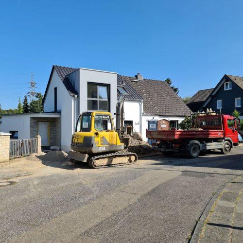 Einfamilienhaus Bau Bergisch Gladbach – Heizungsanlage