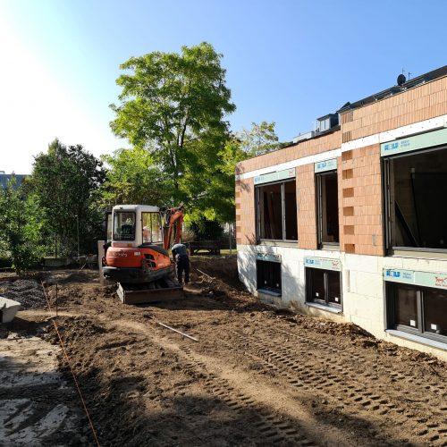 Mehrfamilienhaus in Bonn: Rohbaufertigstellung