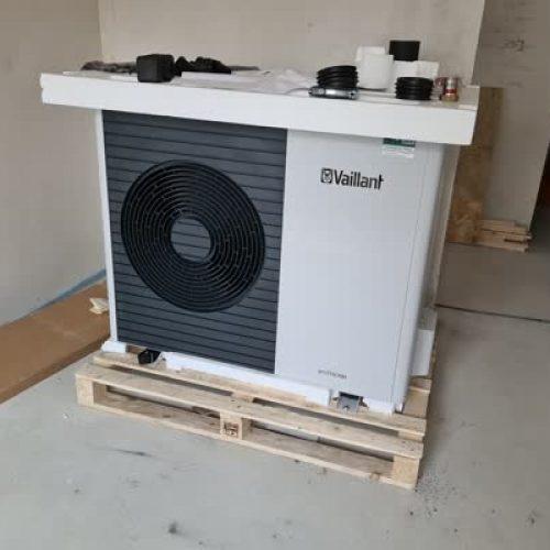 Mehrfamilienhaus bauen: Wärmepumpe